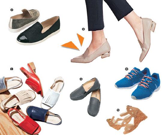 봄나들이 신발 '로퍼·플랫슈즈·웨지샌들' 뭘 신을까